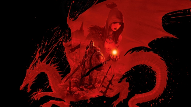 dragon age origins wallpaper black