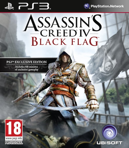 Assassin's Creed IV: Black Flag - Ps3 Cover